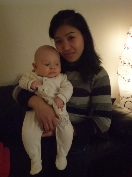 with auntie Lovelyn