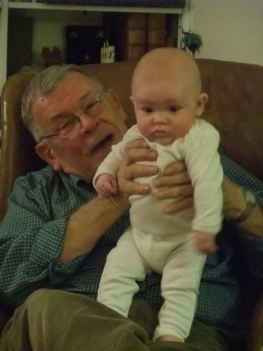 with Grandpa Rudy